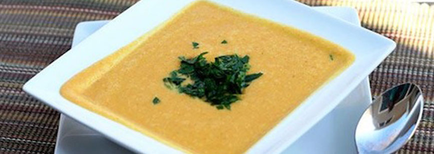 Crema de Zanahoria y Camote Amarillo, Lyncott®