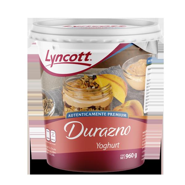 Yoghurt de Durazno