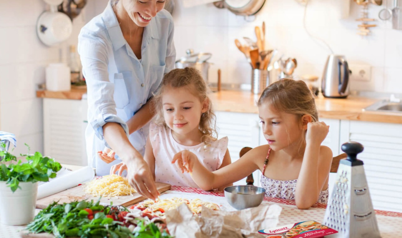 Cocinar para Crear Vínculos Familiares