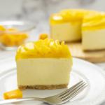 Cheesecake de Mango y Rompope